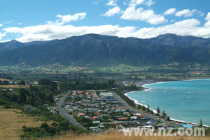 Kaikoura from the peninusula